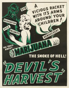 Marijuana demonization